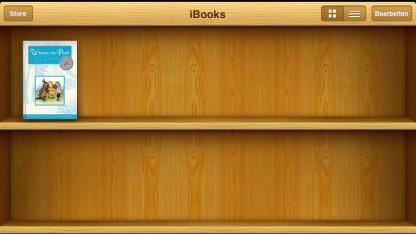 Virtuelles Buchregal auf dem iPad: Unrechtmäßige Nutzung des Begriffs iBook?
