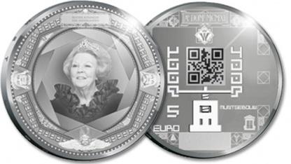 5-Euro-Jubiläumsmünze in Silber