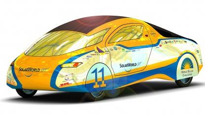 Solarworld Gran Turismo: Mit dem Solarmobil durch fünf Kontinente