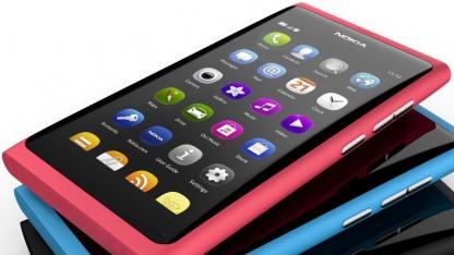 Nokia zeigt N9 mit Meego.