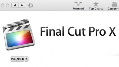 Videobearbeitung: Apple veröffentlicht Final Cut Pro X