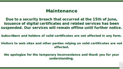 SSL-Zertifikate: Hacker legen StartSSL lahm