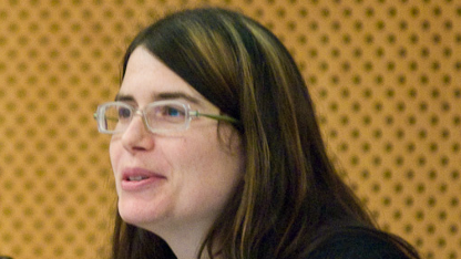 Karen Sandler auf dem European Open Source & Free Software Law Event 2009