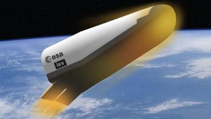 Startklar: 2013 soll die unbemannte Raumfähre IXV ins All fliegen