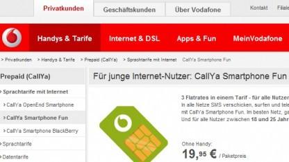 Callya Smartphone Fun für unter 26-Jährige