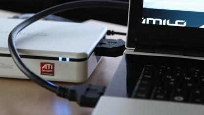 2009 noch eine Speziallösung PCIe-x8 von AMD und Fujitsu per Kabel