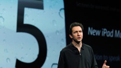 Scott Forstall, Senior Vice President für iOS Software, auf dem WDC im Juni 2011