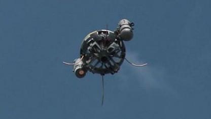 Außer Kontrolle: Drohne T-Hawk musste notladen