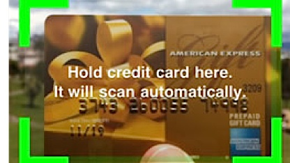 Card.io-Bildschirm