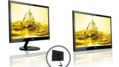AOCs neuer 21,5-Zoll-Monitor lässt sich per USB anschließen.