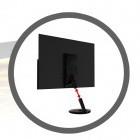 AOC: 21,5-Zoll-Monitor bekommt Bilddaten und Strom per USB