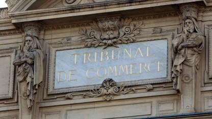 Handelsgericht in Paris: Es geht um viel Geld für Google.