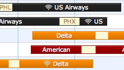 Flugsuche: Hipmunk findet Flüge mit Internet und WLAN an Bord