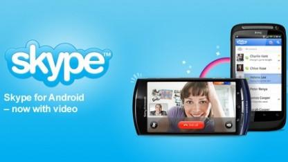 Skype für Android mit Videotelefonfunktion