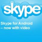 Skype: Update für Android unterstützt Videotelefonie