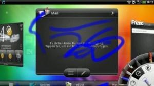 Sense auf dem HTC Flyer