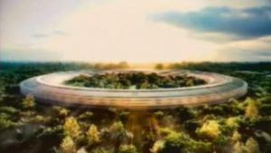 Entwurf für Apples neue Firmenzentrale