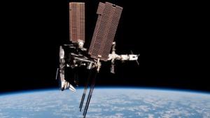 Spaceshuttle Endeavour an der ISS: einzigartige Bilder