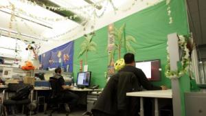 Google-Beschäftigte in New York City