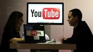 Youtube-Stand auf der weltgrößten Musikmesse Midem in Cannes 2011