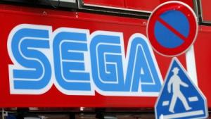 Sega-Werbetafel in Tokio