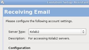 Open-Source-Groupware: Evolution-Plugin für Kolab