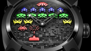 Die Space-Invaders-Uhr