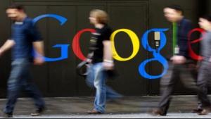 Eingang der Google-Niederlassung in Zürich