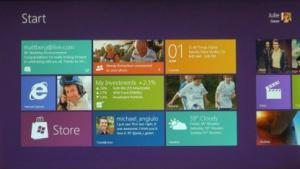 Neues Userinterface für Windows 8