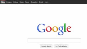 """Googles überarbeitete """"Classic""""-Startseite"""