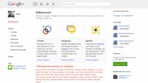 Google+: Erste Eindrücke von Googles Facebook-Konkurrent
