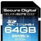 SDXC-Karte: Lesegeschwindigkeit von 95 MByte pro Sekunde