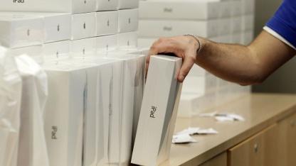 iPad-Verkauf in einem Apple Store in London im März 2011