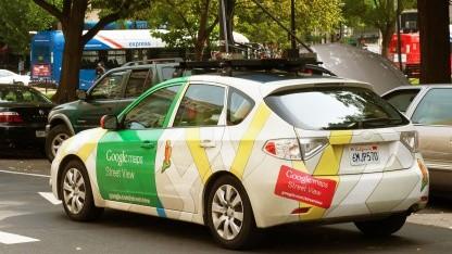Kamerauto für Google Street View