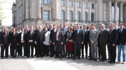 Gruppenfoto der Enquete-Kommission Internet und digitale Gesellschaft
