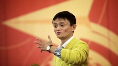 Alibaba-Chef Jack Ma im Januar 2011 in Peking