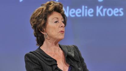 Neelie Kroes, EU-Kommissarin für die Digitale Agenda