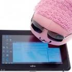 Fujitsu Q550 im Test: 10-Zoll-Tablet-PC mit mattem Bildschirm und Wechselakku