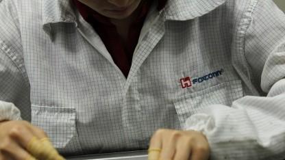 Foxconn-Arbeiter in Longhua
