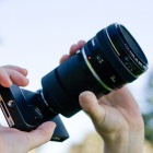 Photojojo: iPhone-Adapter für Spiegelreflexkamera-Objektive