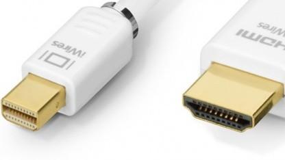 iWires-Mini-Displayport auf HDMI-Kabel