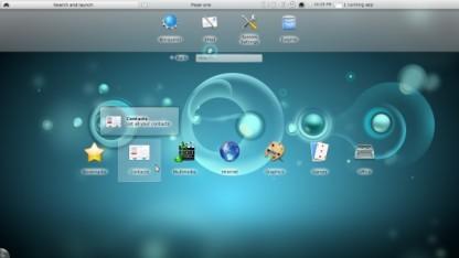 KDE-Plasma-Oberfläche speziell für Netbooks