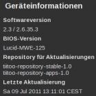 Tablet: WeTabOS 2.3 verändert Tastaturlayout