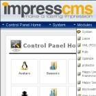 Freies CMS: ImpressCMS 1.2.6 mit wenigen Änderungen