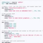 PDFKit: PDF-Dokumente generieren mit Javascript