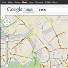 Navigation: Google Maps mit Stauwarner für Deutschland