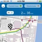 Nokia Karten im iOS-Browser