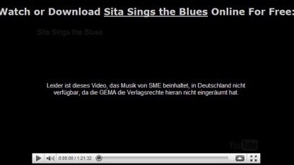 Sita Sings The Blues: Sperrmeldung statt Trickfilm