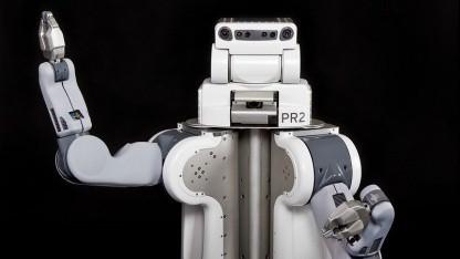 Hilft auch beim Rasieren: Roboter PR2