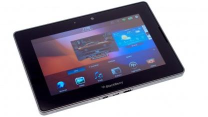 Blackberry Playbook im Test: Kompaktes Tablet mit intuitiven Gesten
